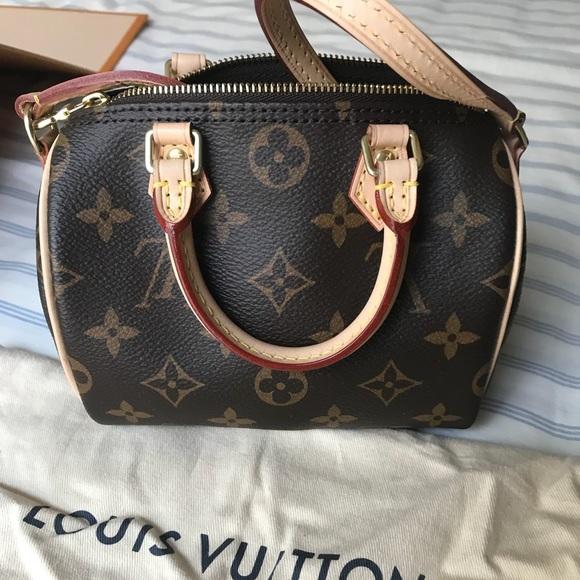 08d88dc2a2e5 Louis Vuitton Handbags - Nano Speedy